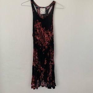 Free People Printed Crepe Dress